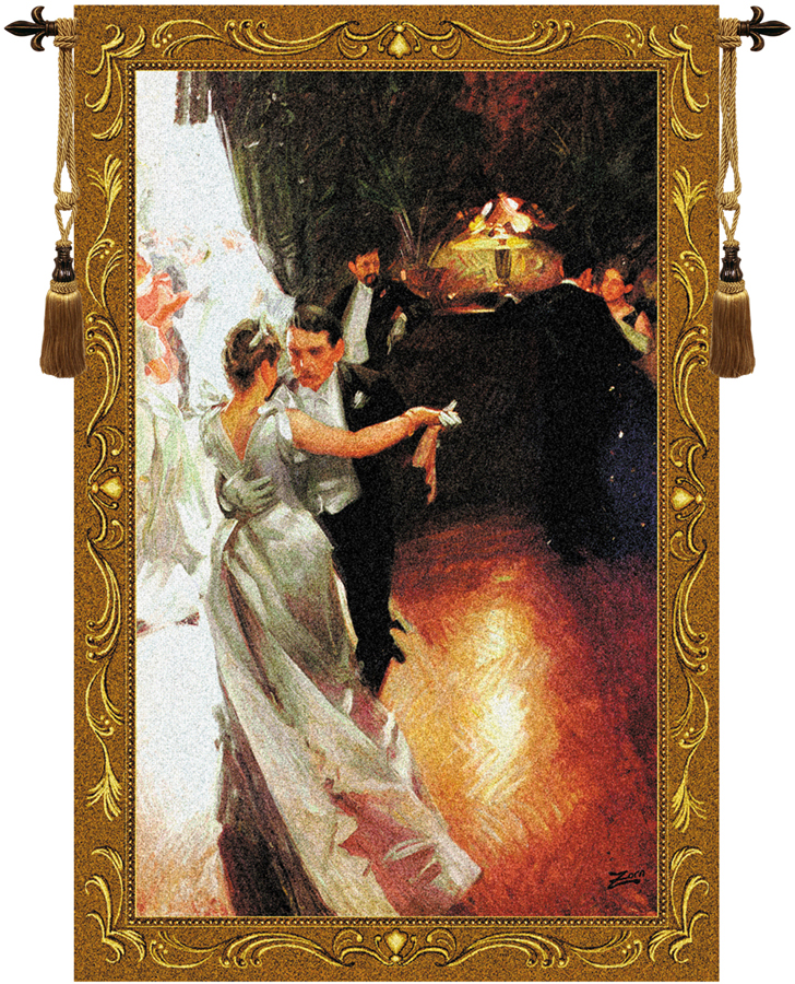 The Waltz Fine Art Tapestry