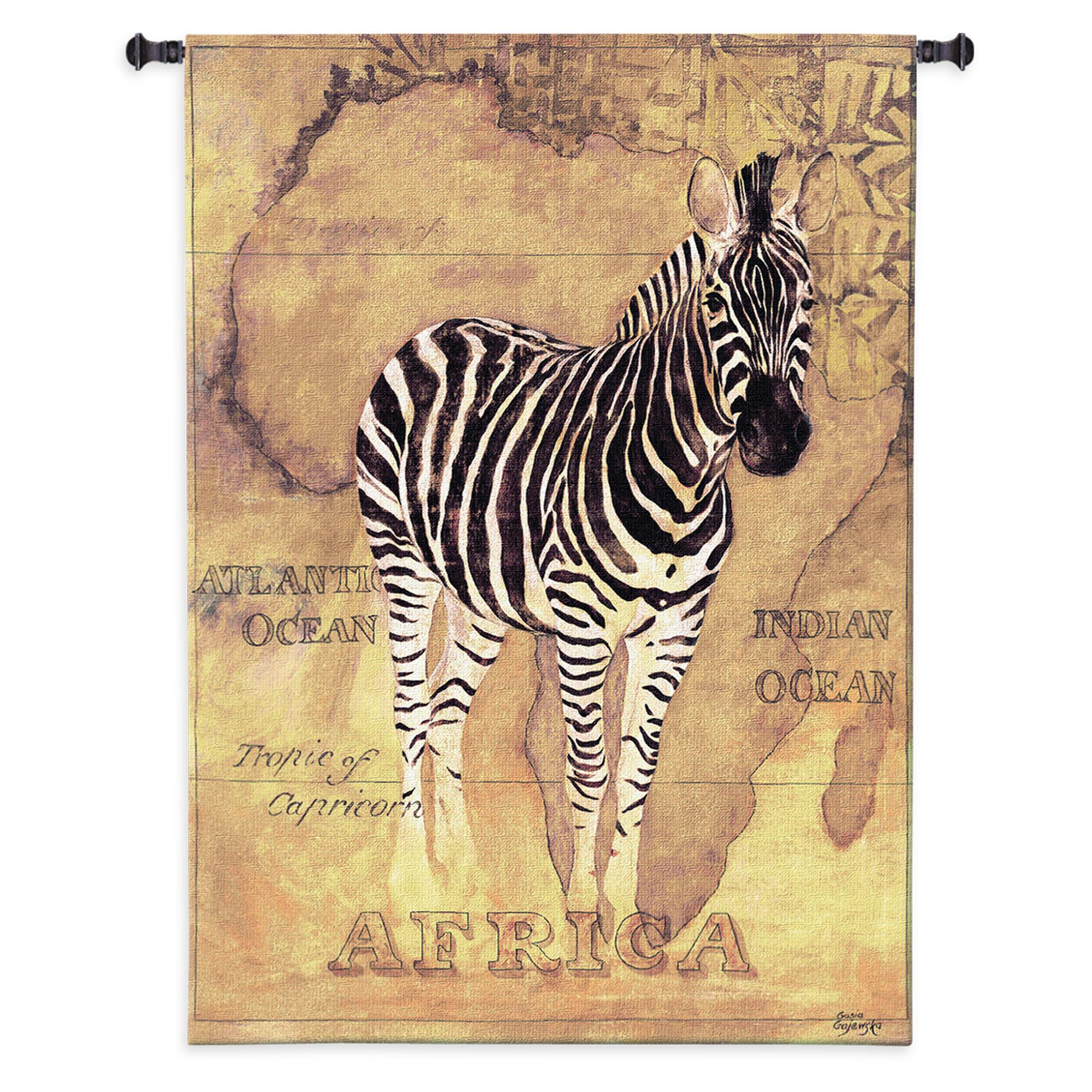 Tapestry | Voyage | Zebra | Hang | Wall