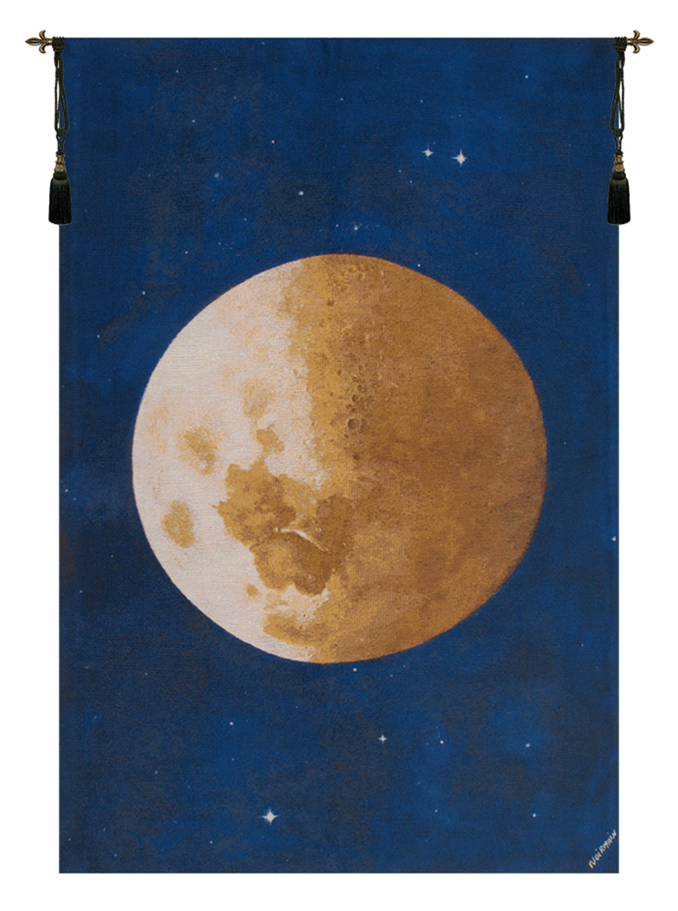 Lune Moon Belgian Tapestry Wall Hanging