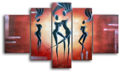 Center Stage Canvas Art