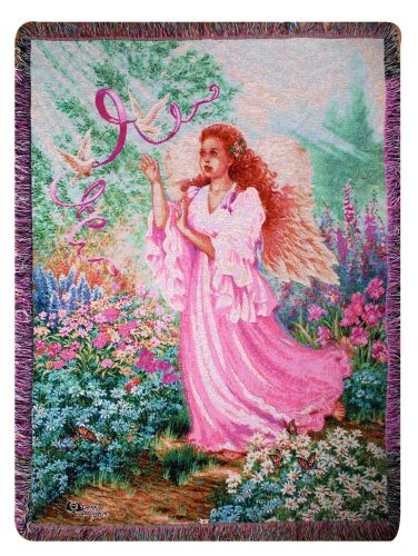 Dawn Of Hope I Tapestry Throw