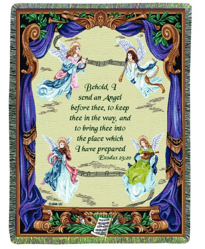 Angel Symphony I Tapestry Throw