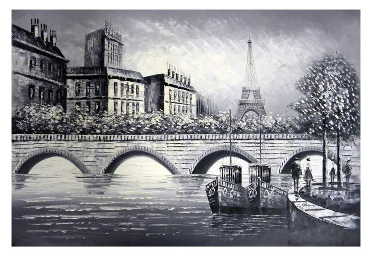 Arch Bridge Canvas Wall Art