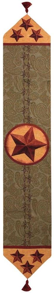 Western Star Table Runner Tapestry Table Runner