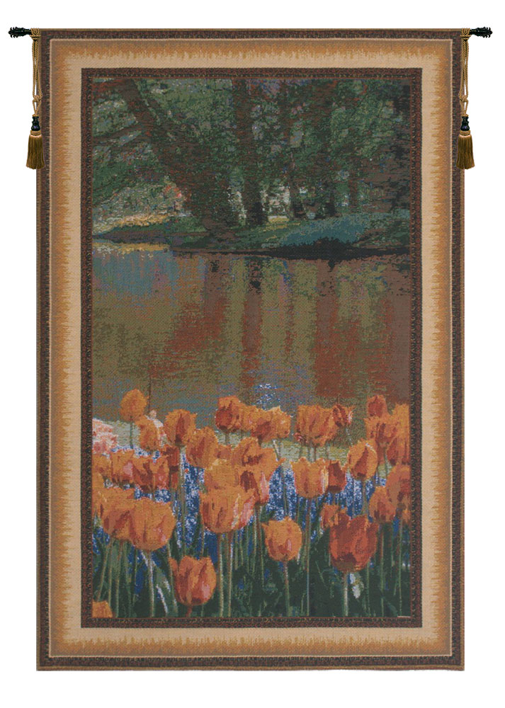 Keukenhof VII Belgian Tapestry