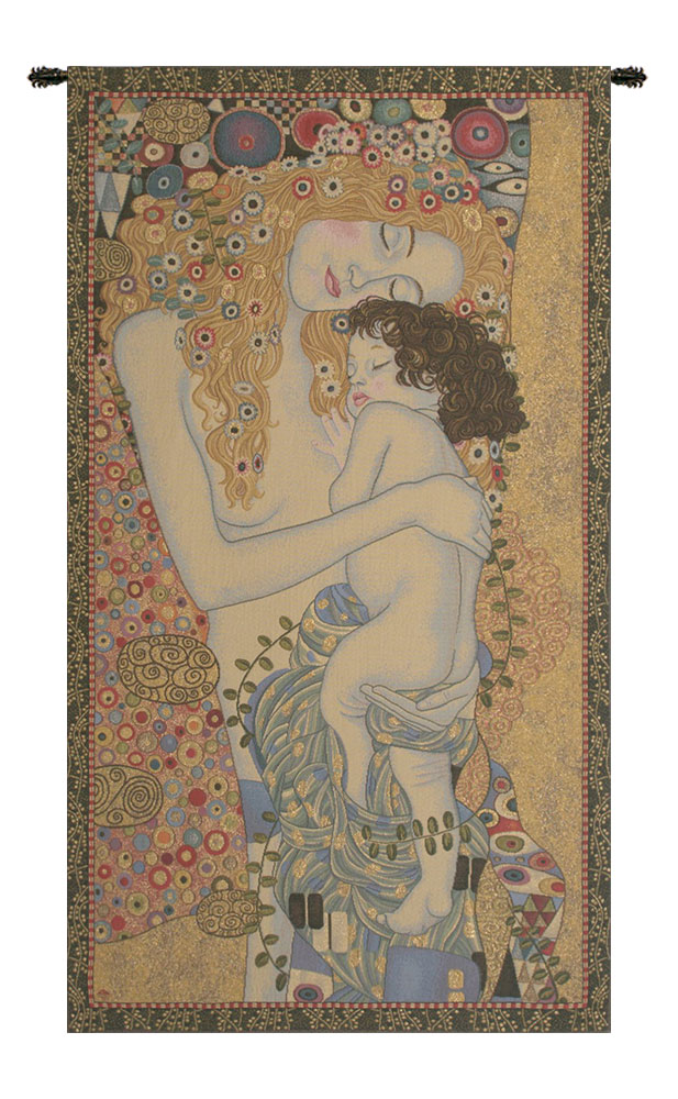 3 Ages By Klimt European Tapestry