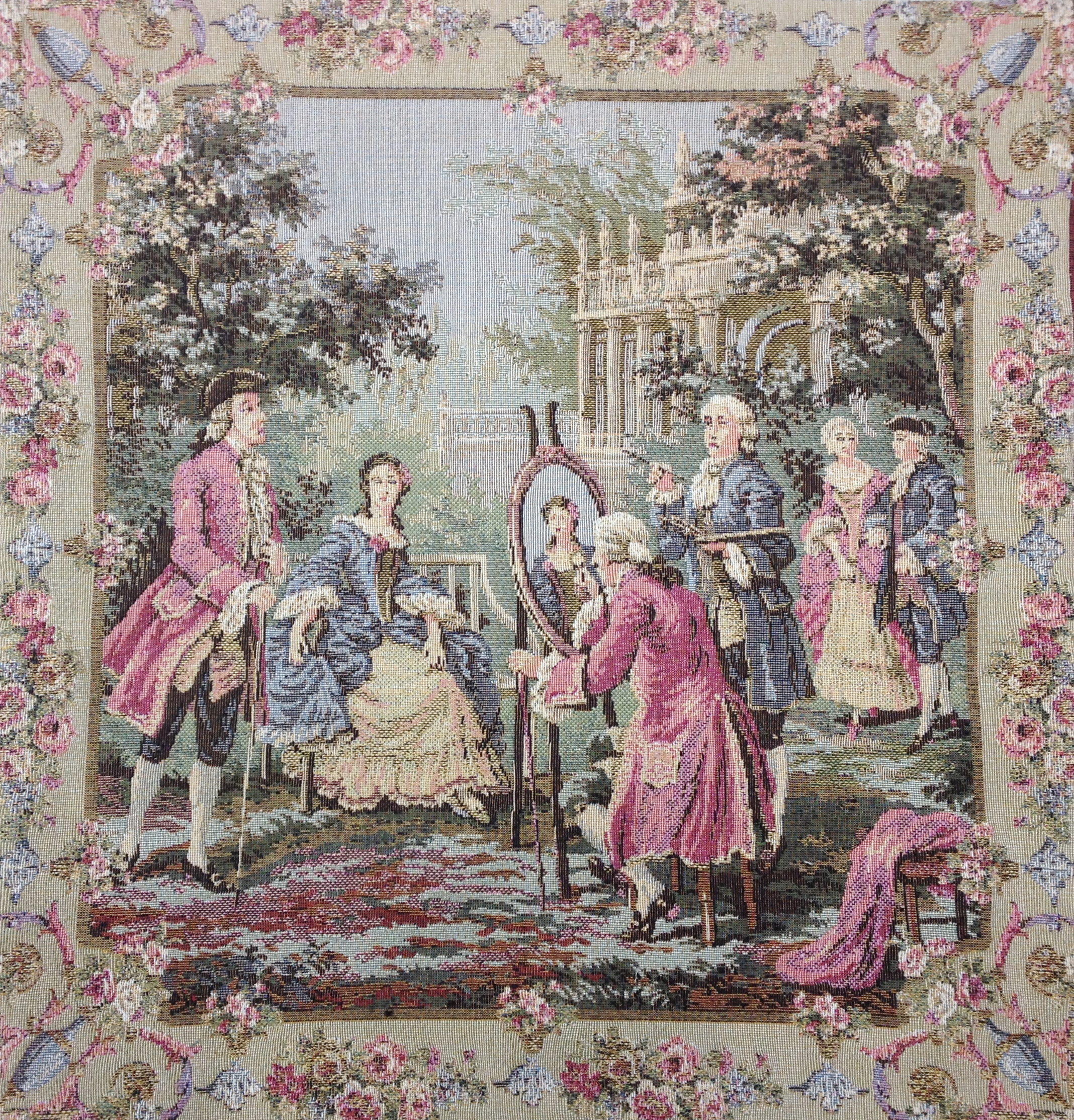 Garden Party  Right Panel European Cushion Cover