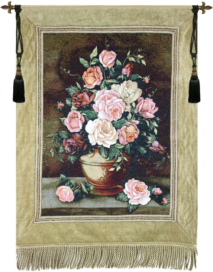 Rose Floral Fine Art Tapestry
