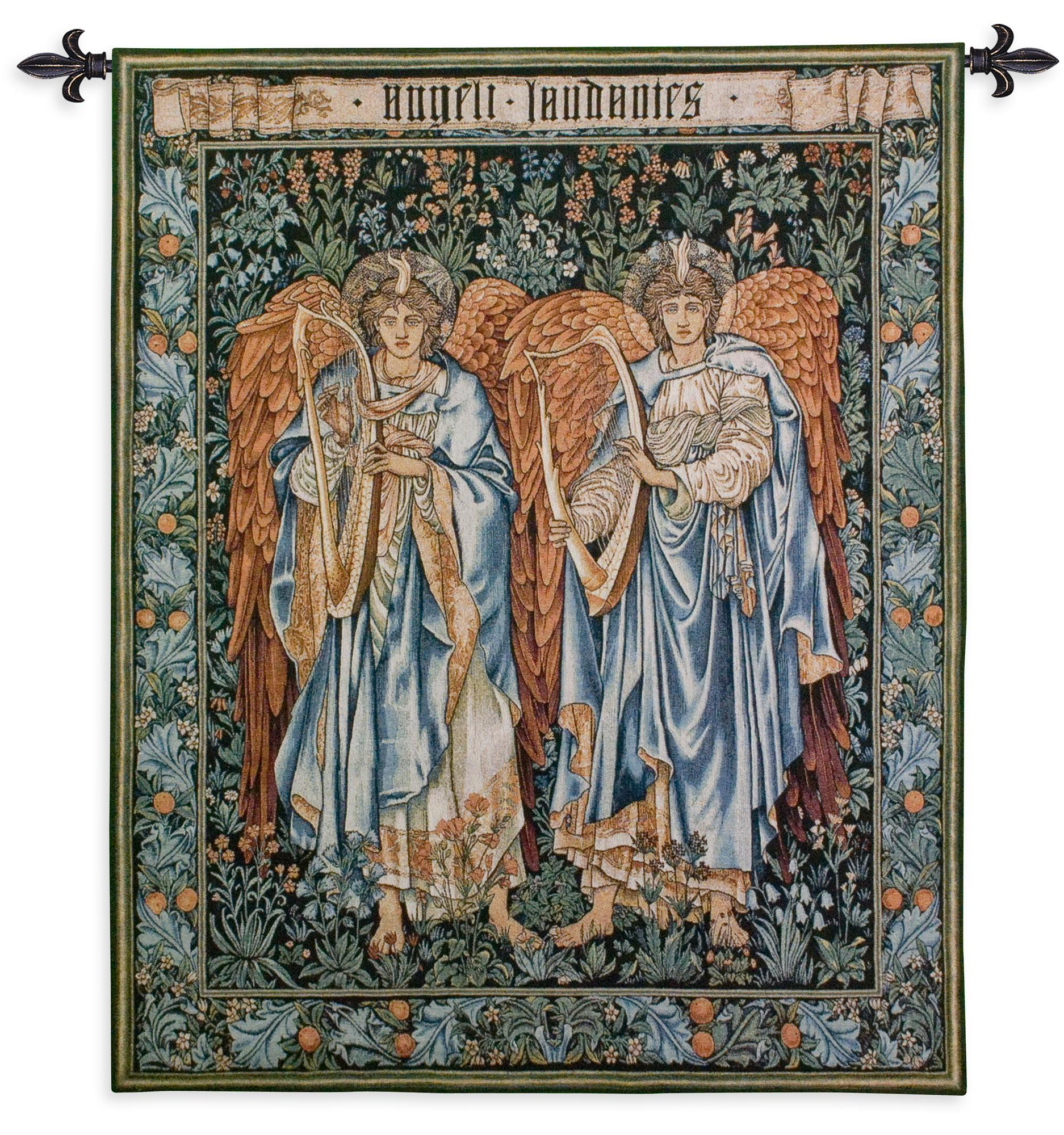 Angeli Laudantes Tapestry Wall Hanging